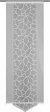 Home Fashion Schiebevorhang, Polyester, Weiß