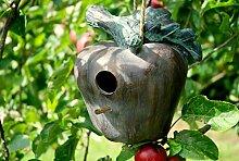Home & Garden Vogelhaus Apfel Gartenskulptur