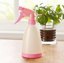 Home Gartenarbeit Bewässerung Kleine Gießkannen Mehr Fleisch Pflanze Wasser Flasche Hand Druck Sprühflasche Kunststoff Sprinkler,Beige