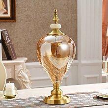 Home glass dekorationen/wohnzimmer-möbel/flower vase dekoration-B