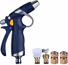 Home Hanging Metal Autowäsche Wasser Pistole Auto Hochdruck Zink-Legierung Wasser Pistole Kupfer Gemeinsame Garten Bewässerung Bewässerung Wasser Spray Gun ( Farbe : A )