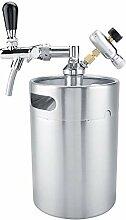 Home Kegging und Beer Keg, 5L Mini Edelstahlfass