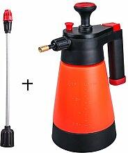 Home Kleine Hand Druck Spray Topf, Outdoor Garten Sprühgerät landwirtschaftlichen kleinen Spray Topf Hand-Gießkanne Gartenarbeit Werkzeuge rot 1L ( Farbe : B )
