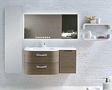 Home-Lack Spiegel, Spezialspiegel mit LED Beleuchtung - Themenspiegel Charo HL11S - , B/H: 80x60 cm