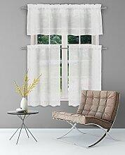 Home Maison Floral Küche Fenster Vorhang Set,