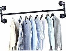 Home mall Industrierohr-Kleiderständer,