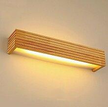 Home Massivholz LED Wandleuchte Badezimmer