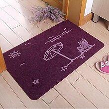 Home Matten Türen Türen Türen Schlafzimmer Fußkissen Küche Anti-Rutsch-Absorptions-Teppich ( farbe : D , größe : 40*60cm )