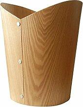 Home Mülleimer Kreative Mülleimer Material Holz Größe 25 5 * 30cm ohne Abdeckung Mülleimer Büromaterial Mülleimer