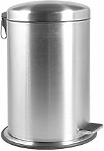Home Mülleimer, Metall, 12 Liter