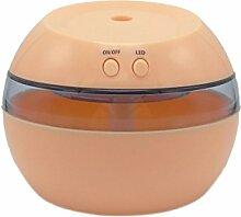 Home Office Mini-Luftbefeuchter USB-Luftbefeuchter Aromatherapie,Orange