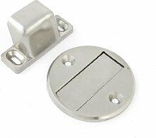 Home silber tone Metall Halter Magnetic Türstopper Türstopper Stopper
