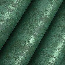 Home Simple Retro-Tapete, einfarbig, Smaragd, für