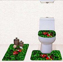Home Store Flanell 3 Stück Fisch Muster WC