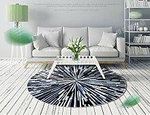 Home Store Runder Teppich Schlafzimmer Hängender