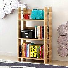 Home & Style 3-stöckiges Bücherregal aus Holz