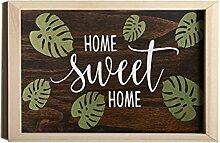 Home Sweet Home | Willkommensschild aus Holz |