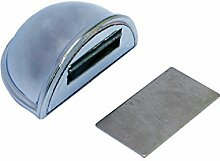 Home System 209120009307 Türstopper, Aufkleber, aus ABS-Kunststoff, mit Magnet, verchrom