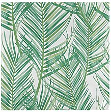Home Table Smooth Tropical Palm Leaf Pattern