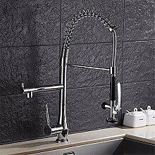 Home Tap Küche Wasserhahn Zugfeder kann doppelt