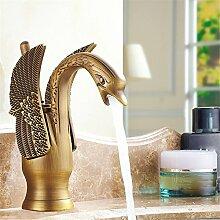 Home Tap Kupfer Einlochmontage Waschbecken
