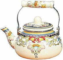Home Teekanne Teekanne Kochkessel,Emaille auf