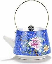 Home Teekanne Teekanne Tragbare handgemalte