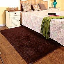 Home Teppich/Schlafzimmer Bett waschbar/Indoor Wohnzimmer Bett Zimmer Teppich-C 100x200cm(39x79inch)