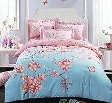 Home textiles cotton four sets of bedding, wedding bed sheets 3D four sets