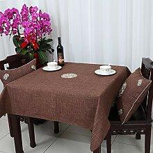 Home tischdecke einfache und moderne tischdecke