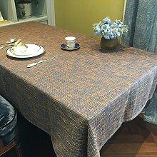 Home tischdecke,High-quality-tuch,Plain baumwolle