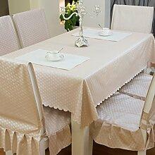 Home Tischdecke Rectangle Tischdecke Wasserdicht Wash Away Spillproof Stoff Tischdecke Stoff Solid Color Couchtisch Tuch ( Farbe : #-9 , größe : 100*160CM )