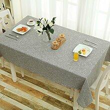 Home tischdecke,Reine farbe tischdecke stoff