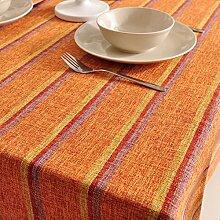 Home tischdecke retro home tischtuch.dicker gitter ländliche tischdecke teetisch längliche tischdecke.-I 140x160cm(55x63inch)