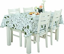 Home Tischdecke Tischdecke Rectangle, Cotton Fresh Tuch Valley Wohnzimmer Tuch Tischdecke Couchtisch Kleine runde Tisch Tischdecke ( Farbe : Bunte , größe : 140*180CM )