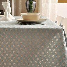 Home tischdecke vintage tischdecke deluxe tischtuch.stoff baumwolle leinen teetisch klassisches jacquard längliche tischdecke-verschiedene stile.-A 140x140cm(55x55inch)