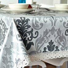 Home tischdecke vintage tischdecke deluxe tischtuch teetisch längliche tischdecke-verschiedene stile.-A 140x180cm(55x71inch)
