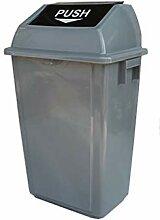 Home - Trash box ZWD Mülleimer mit Deckel, Garten