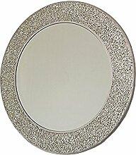 Home Treats Silber Mosaik Spiegel 40x 40cm