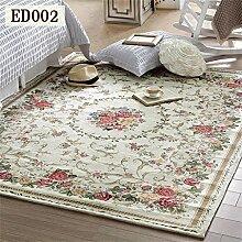 HOME UK-amerikanischen Teppich Wohnzimmer Tisch Matte Rural Pastoral Mittelmeer Nacht Continental Schlafzimmer Teppich
