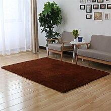 HOME UK-Schöne Samt-Teppich Wohnzimmer Schlafzimmer Bedside Tatami Teppich Sofa Rechteckige Teppich