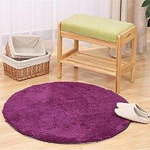 HOME UK-Super Runde Teppiche Wohnzimmer Schlafzimmer Teppich Computer Stuhl Teppiche