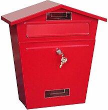 Home Vida Stahl Briefkasten Mail Post Box mit