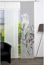 Home Wohnideen Flächenvorhang Semora grau, 60 x