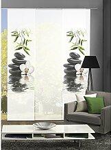 HOME Wohnideen Komplett-Fenster-Schiebevorhang