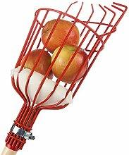 Home-X Obstpflücker mit Kissen zur Vermeidung von