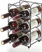 Home Zone Weinregal für bis zu 6 Flaschen