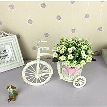 Home Zubehör Kleine Auto Feng Shui Künstliche Blumen (sehr viel Farbe) Dekorative Fake Blumen Simulation Blumen Green Potted Wohnzimmer Schlafzimmer Einrichtungsgegenstände , H