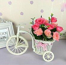 Home Zubehör Kleine Auto Feng Shui Künstliche Blumen (sehr viel Farbe) Dekorative Fake Blumen Simulation Blumen Green Potted Wohnzimmer Schlafzimmer Einrichtungsgegenstände , F
