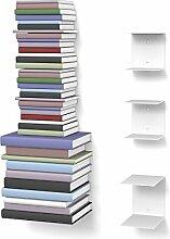 home3000 Unsichtbares Bücherregal 2-1 Set